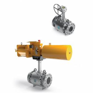 CRYOGENIC TRUNNION BALL VALVES