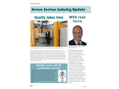 ValveWorld SEVERE SERVICE July 2017 issue