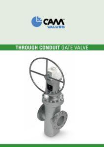 Through conduit gate valve