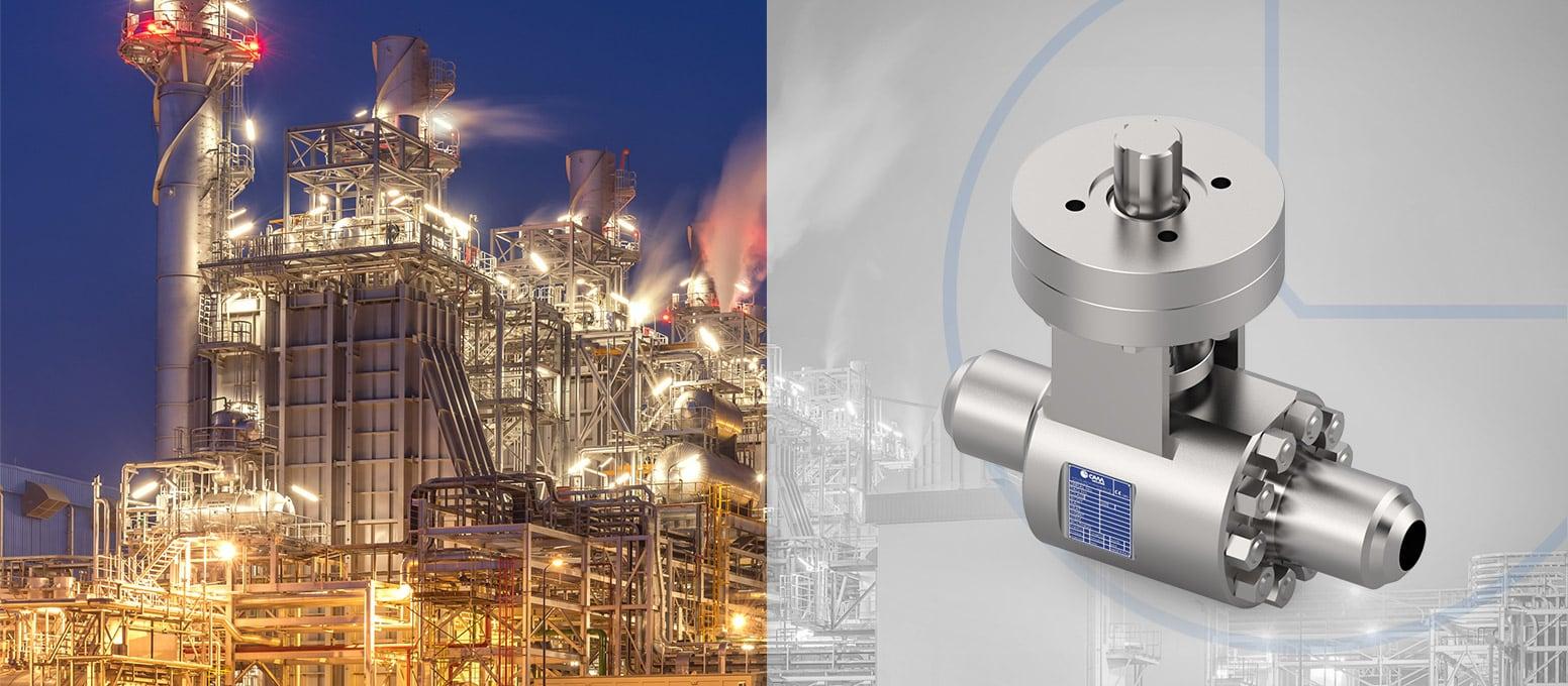 Cam Valves - Severe service ball valves