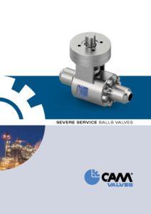 Severe service ball valves